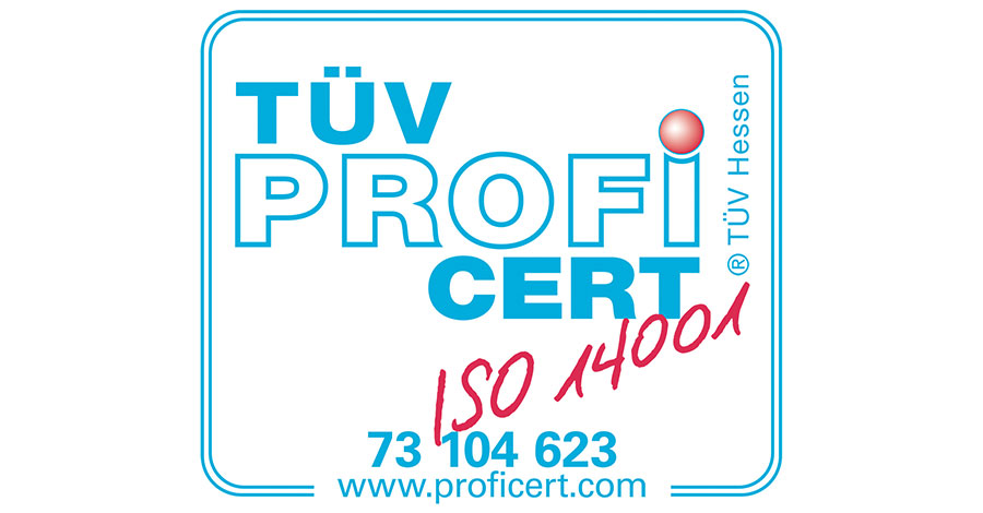 Cert 14001 in Deutsch